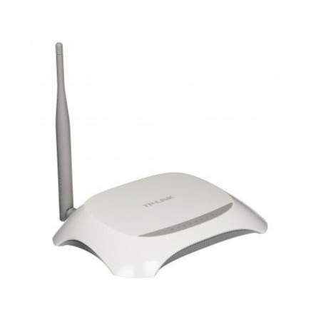 Модем беспроводной ADSL2+ 150M Tp-Link TD-W8901N(RU) (150M Wireless N ADSL2+ router, 4-port Switch, 5dBi Undetachable antenna, Wi-Fi On/Off Button)