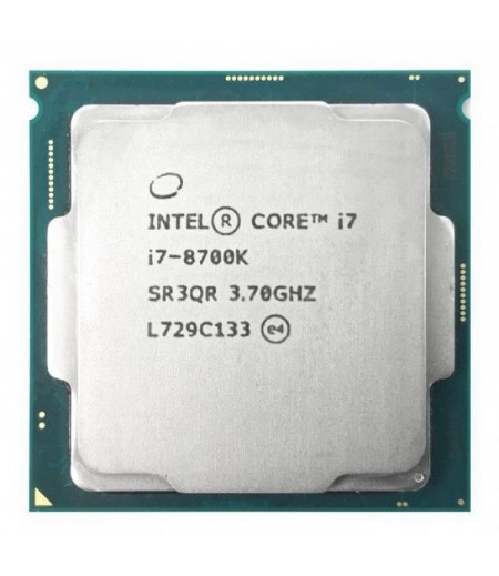 Процессор CPU S-1151 Intel Core i7 8700K TRAY