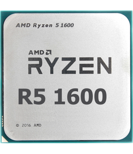 Процессор AMD Ryzen 5 1600 Summit Ridge (AM4, L3 16384Kb) (YD1600BBAEBOX)